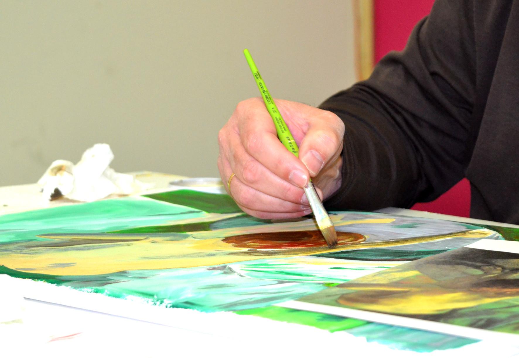 Malen, zeichnen und fotografieren mit Freu(n)dInnen – Frühlingskurse starten am 3. März