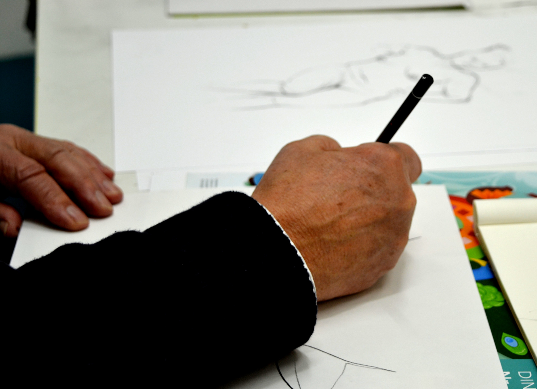 Malen und zeichnen mit Freu(n)dInnen – Herbstkurse starten am 23. September 2020